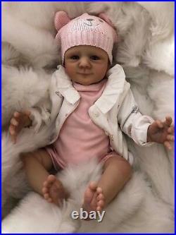 Cherish Dolls Reborn Doll Cheap Baby Girl Elsie Realistic 18 Lifelike Uk