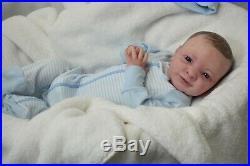 Complete Reborn Realborn JOSEPH ooak lifelike Baby vinyl art ARTIST doll NEW