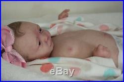 Complete Reborn Realborn ZURI ooak lifelike Baby vinyl art ARTIST doll NEW