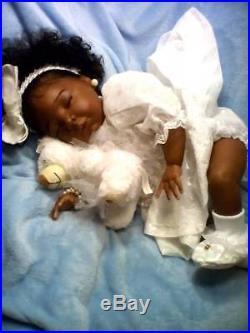 Custom (AA), Ethnic Realistic Reborn Baby Girl Doll, Chrisy
