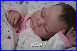 Custom Made NEW RELEASE REBORN ooak doll life like art ARTIST vinyl Baby Gemma