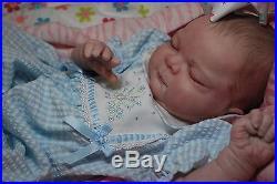Custom Made REBORN ooak doll lifelike fake art ARTIST BIG 23 Baby LIBBY vinyl