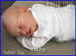 Custom Reborn Baby Doll Realborn Skya Asleep