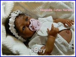 Custom Reborn baby doll AA, Biracial, Ethnic, Latina BOY or GIRL PICK A KIT
