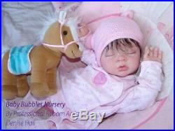 Custom made reborn baby doll silicone feel vinyl life like newborn real xmas