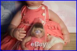 Cute Lee Middleton Baby Doll + Dolly Just Like Mommy Reva Schick Vinyl