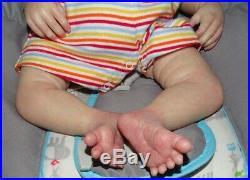 Darby Asleep Reborn baby boy doll (Daisy Kit)