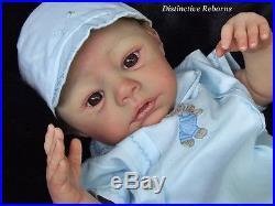Distinctive Reborns NEWBORN Baby Boy Doll. Moritz Sculpt By Sabine Wegner