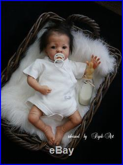 Dyck-Art Reborn Baby Boy Doll Rosa sculpted by Karola Wegerich
