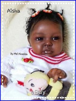Ethnic reborn baby doll