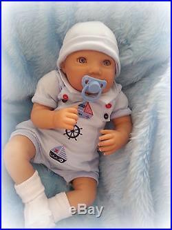 FOREVER BABIES Reborn Baby Doll Boy Newborn Dolls Lifelike Realistic Vinyl