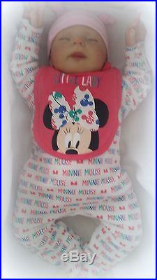 FOREVER BABIES Reborn Baby Doll Girl Newborn Dolls Lifelike Realistic Vinyl