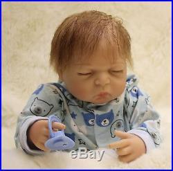 Full Body silicone Reborn Baby Doll OtardDolls 20 lifelike soft vinyl Babies