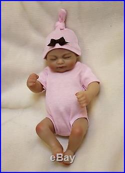 Full silicone reborn Real baby doll 10 Handmade soft vinyl By OtardDolls