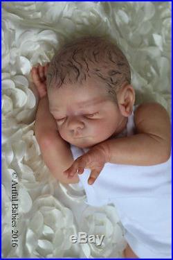 Gorgeous Reborn Freya Kewy Artful Babies Realistic Baby Boy Art Doll