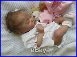 GORGEOUS Reborn Baby GIRL Doll KAMI ROSE by LAURA LEE EAGLES- SOLD OUT