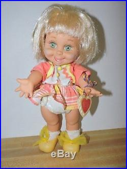 Galoob Baby Face Doll So Happy Mia 1990 with Clothes