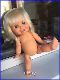 Galoob Baby Face Vinyl 13 Doll So Silly Sally By Mel Birkrant 1991 Excellent