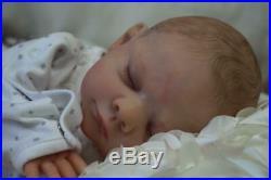 Gorgeous Pippin Kewy Reborn- Baby Boy Doll Nubornz Nursery Painted Hair