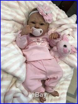 Gorgeous Reborn Baby LE Madison by Andrea Arcello Awake Newborn Therapy Doll