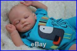 Gorgeous Reborn David Kewy Baby Boy Doll Nubornz Nursery Painted Hair