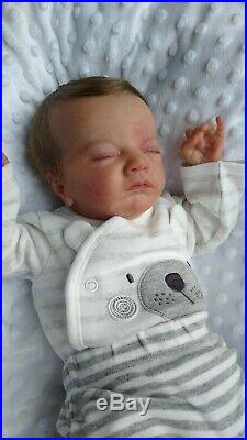 HANLEY reborn doll Charlotte limited edition laura lee eagles rooted hair GHSP