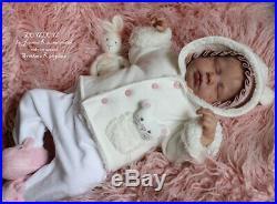 Hyperrealistic Reborn Baby doll LouLou by Joanna Kazmierczak
