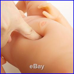 IVITA 22'' Lifelike Reborn Dolls Baby BOY For Kids Full Silicone Body Toddler