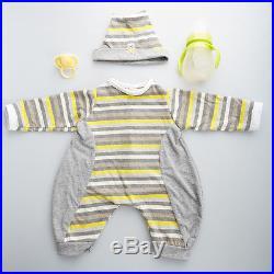 IVITA Realistic Reborn Baby Boy Doll Lifelike Baby Toy FULL BODY SILICONE