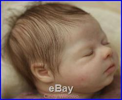 Isabella Nikki Johnston Reborn Baby 17 inch doll by CINDY WIBOWO
