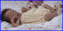 Jackies BabiesReborn baby girldollAmericusLaura Lee Eaglesfemale full body