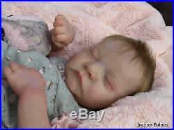 Jackies BabiesReborn baby girldollLeviBonnie Brownnew sculpt1st edition
