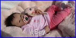 Jackies BabiesReborn baby girldollPennyNatalie Blicknew sculpt
