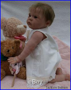 Jackies BabiesRebornbaby girlDollLilli MarlaineSylvia ManningFull body