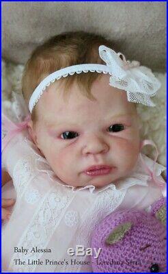Jamie kit by Adrie Stoete Lifelike Baby Girl Reborn Doll bambola puppen