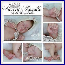 KAMI ROSE Eagles, vinyl collectible reborn lifelike art baby doll