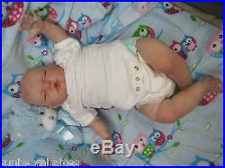 LIFE LIKE SUGAR BABY BOY DOLL BY DONNA RUBERT NEW REBORN REALISTIC FAKE BABY