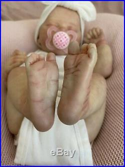 Laura Lee Eagles Reborn Baby Girl Doll