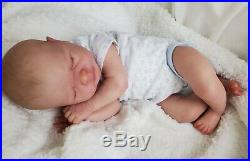 Leo Reborn Baby Doll by Sabine Altenkirch Victoria Braun Vickybees Nursery