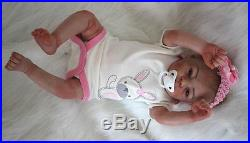 Lifelike 21Reborn Baby doll soft vinyl silicone Realistic Newborn Handmade gift