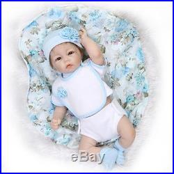 Lifelike Handmade Silicone Vinyl Baby Boy Doll Reborn Newborn Dolls+Clothes 20'