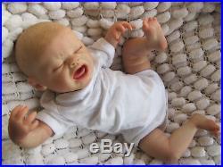Lifelike Newborn Boy Dolls Quinton Reborn Baby Sunbeambabies (outfit Varies)