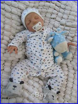 Lifelike Newborn Doll Real Handpainted Reborn Baby 22 Artist Sunbeambabies