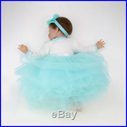 Lifelike Newborn Reborn Dolls Silicone Vinyl Handmade Dolls Gifts Realistic Baby