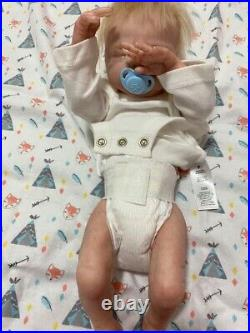 Lifelike Ooak baby boy Jack 3D art reborn anatomically correct doll