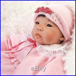 Lifelike Realistic Asian Newborn Weighted Baby Girls Doll Nischi Alive Reborn