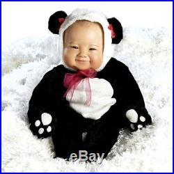 Lifelike Realistic Asian Newborn Weighted Baby Girls Doll Su-Lin Alive Reborn