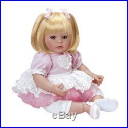 Lifelike Realistic Reborn Handmade Vinyl 20 Toddler Girl Doll Play Toy by Adora