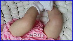 Lifelike Soft Silicone Vinyl Reborn Baby Doll, M May, Sunbeambabies Fast Post