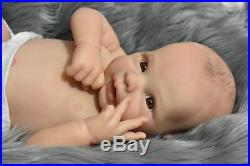 Limited Edition Pilar, reborn doll Sculpture by Adrie Stoete